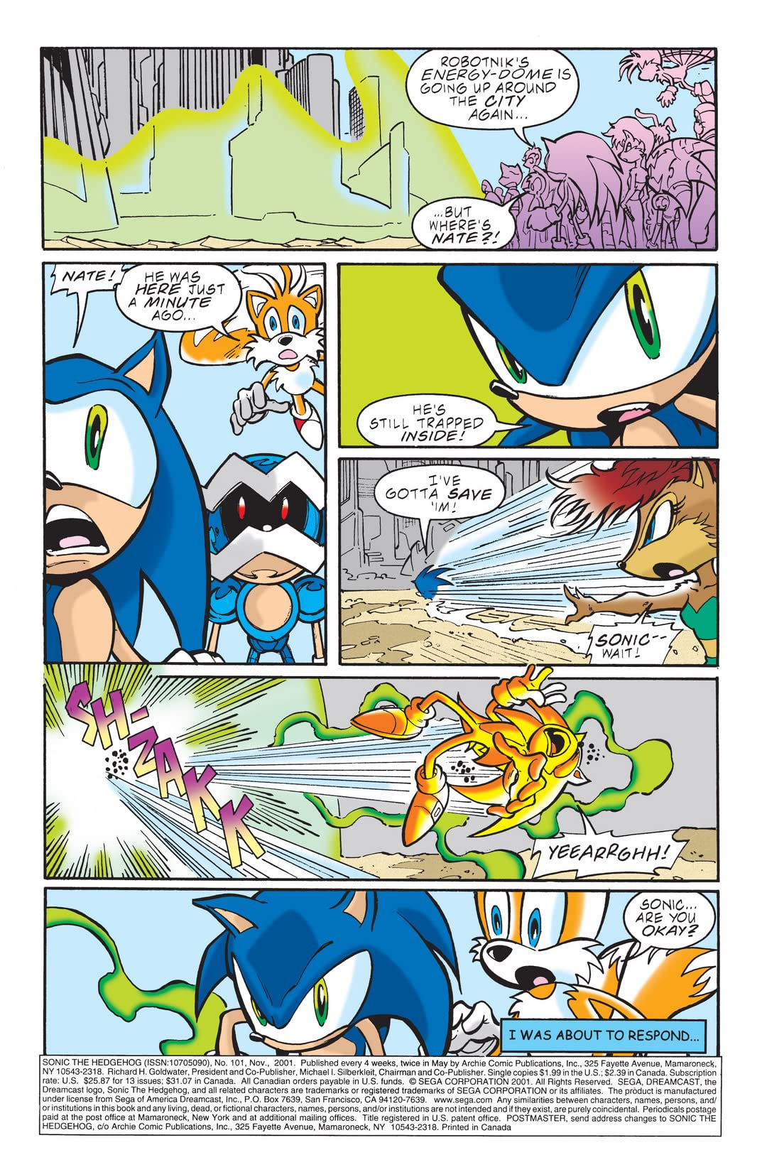 Sonic the Hedgehog #101