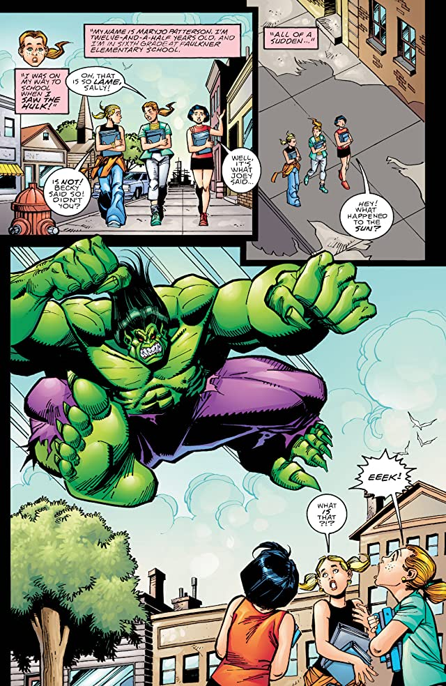 click for super-sized previews of Incredible Hulk (1999-2008) #5