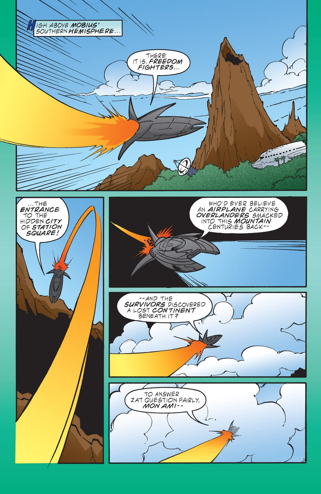 Sonic the Hedgehog #106
