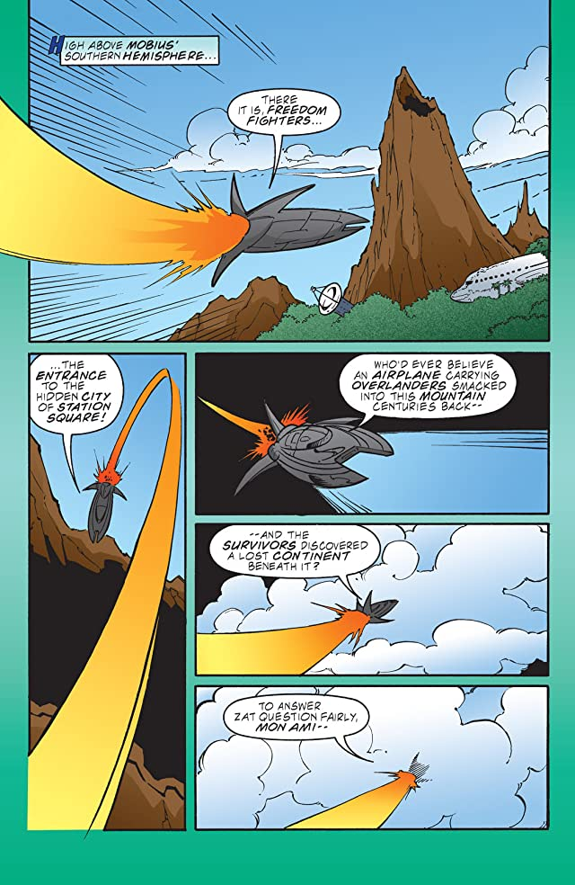 click for super-sized previews of Sonic the Hedgehog #106