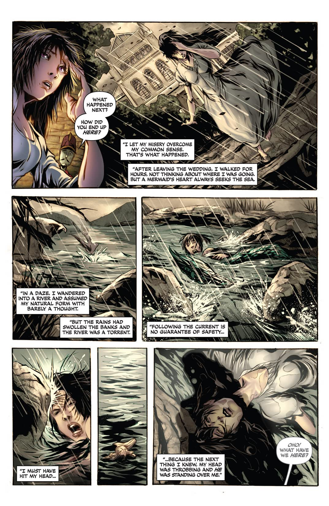 Damsels: Mermaids #0