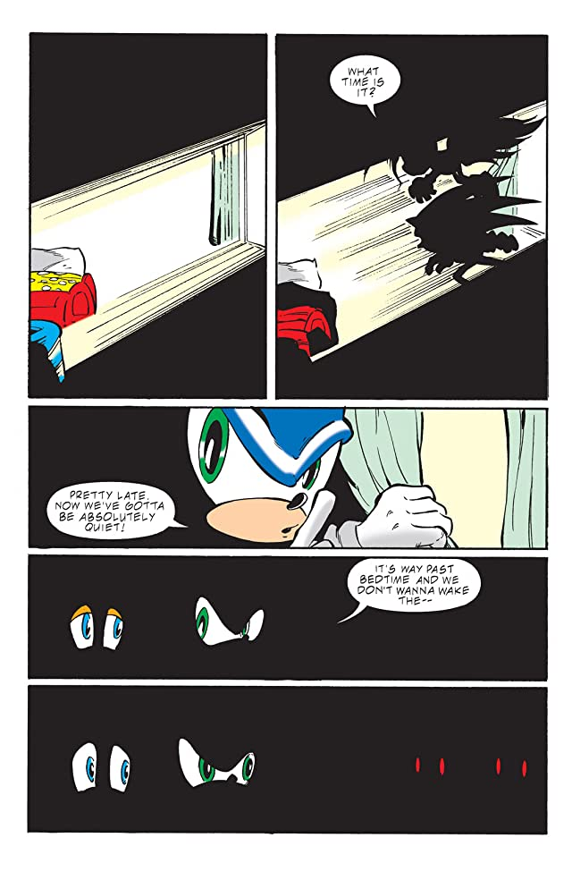 click for super-sized previews of Sonic the Hedgehog #99