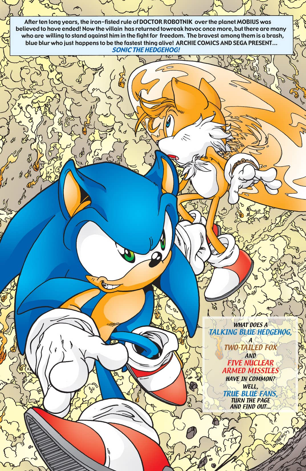 Sonic the Hedgehog #110