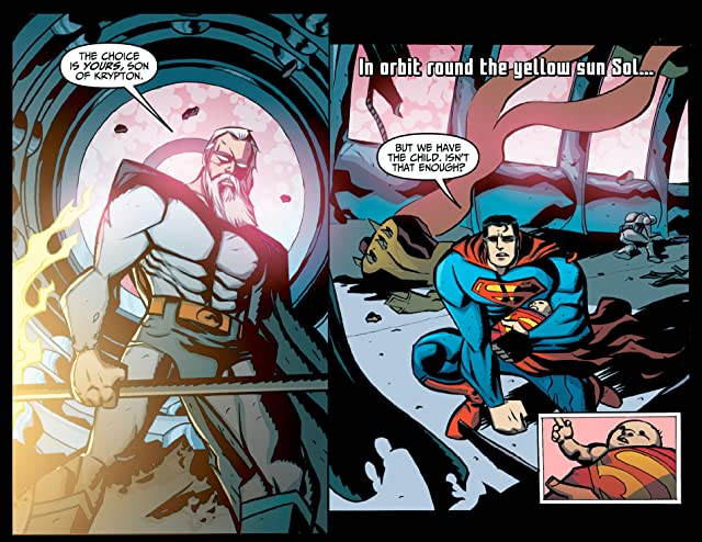click for super-sized previews of Adventures of Superman (2013-2014) #6