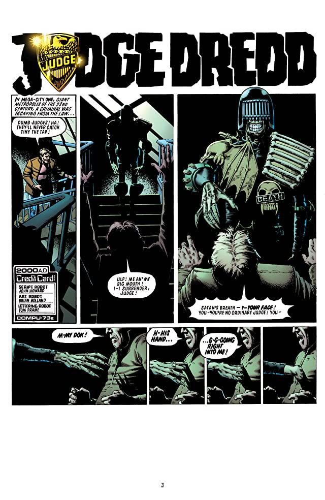 click for super-sized previews of Judge Dredd: FCBD Special
