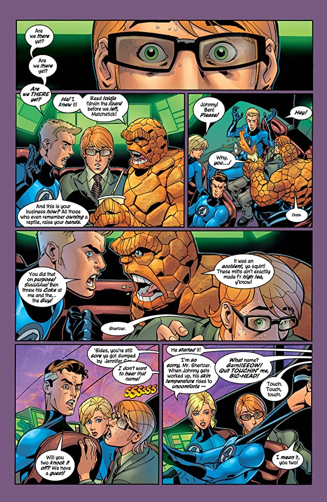 click for super-sized previews of Fantastic Four (1998-2012) #60