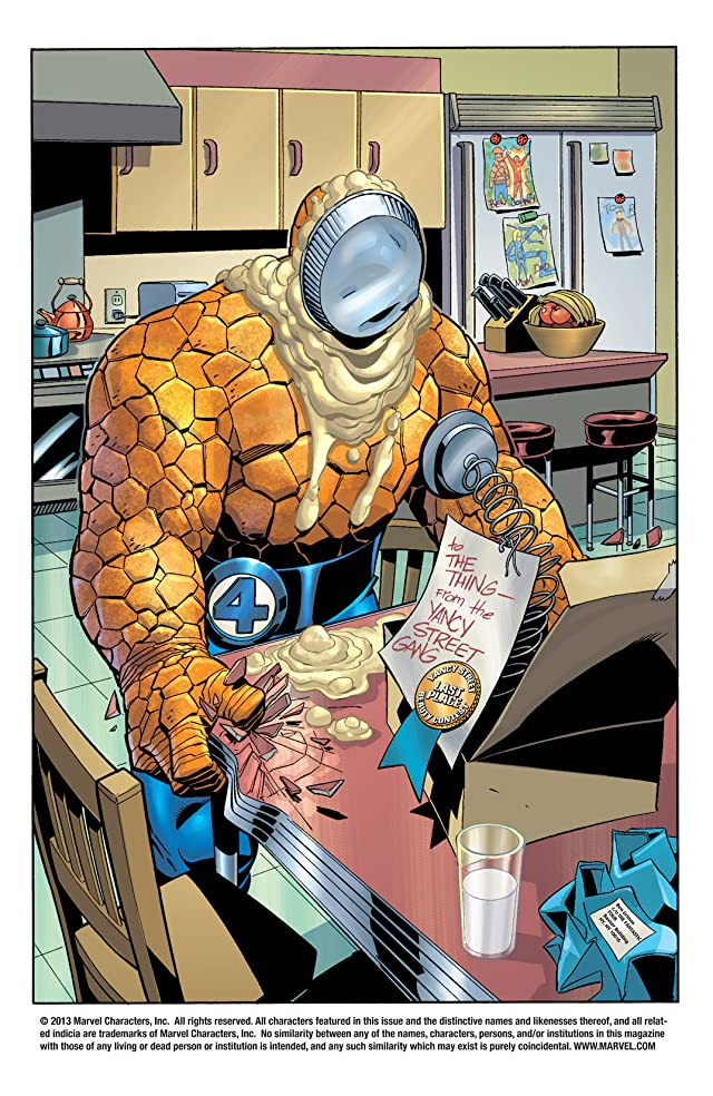 click for super-sized previews of Fantastic Four (1998-2012) #61