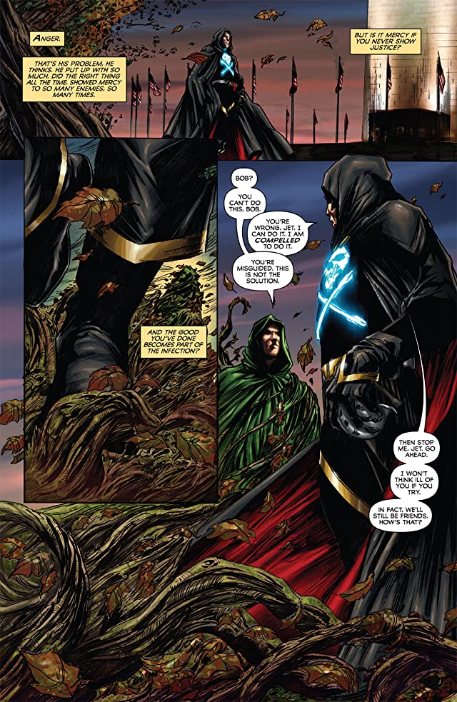 click for super-sized previews of Black Terror #2