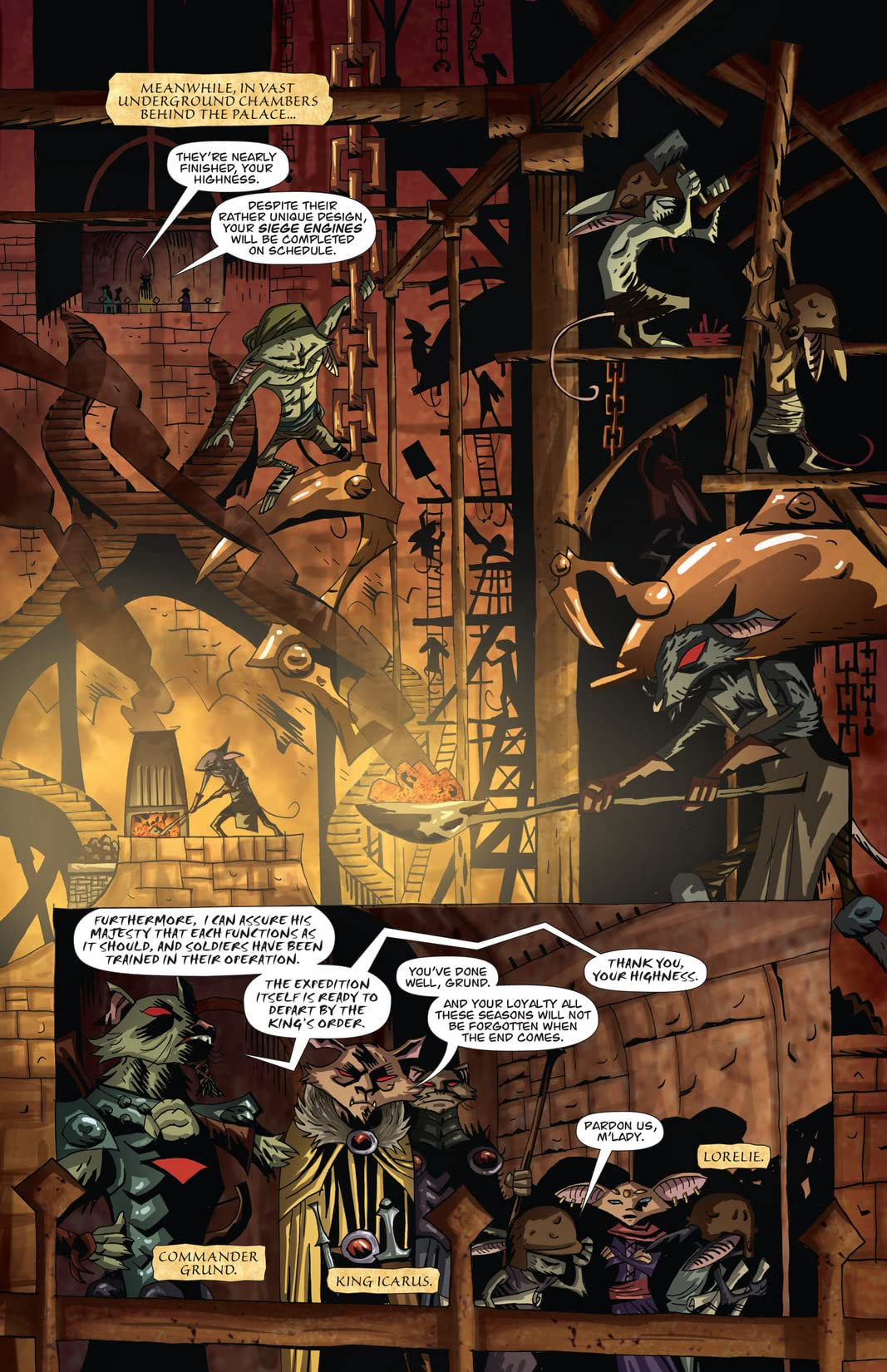 The Mice Templar Vol. 4: Legend #3