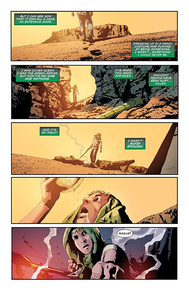 click for super-sized previews of Green Arrow (2011-) #21