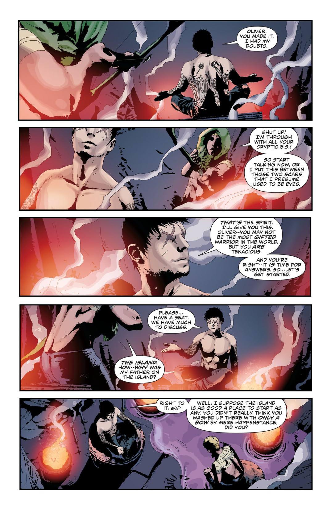 Green Arrow (2011-) #21