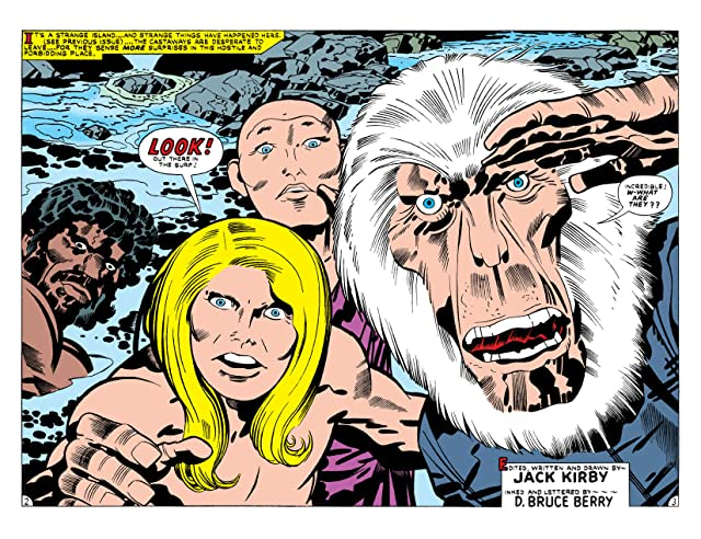 click for super-sized previews of Kamandi: The Last Boy on Earth (1971-1978) #25
