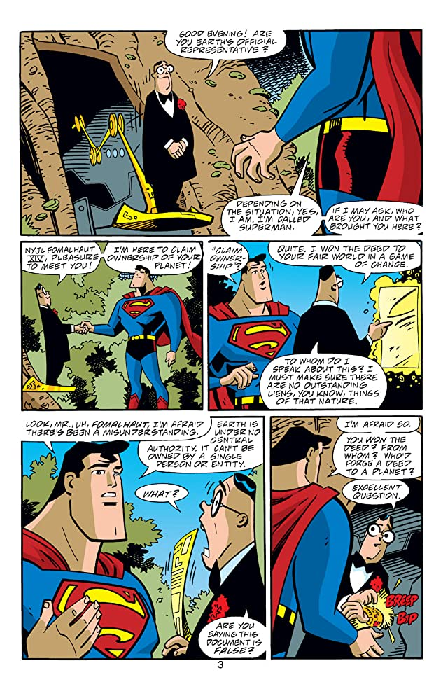 click for super-sized previews of Superman Adventures (1996-2002) #56