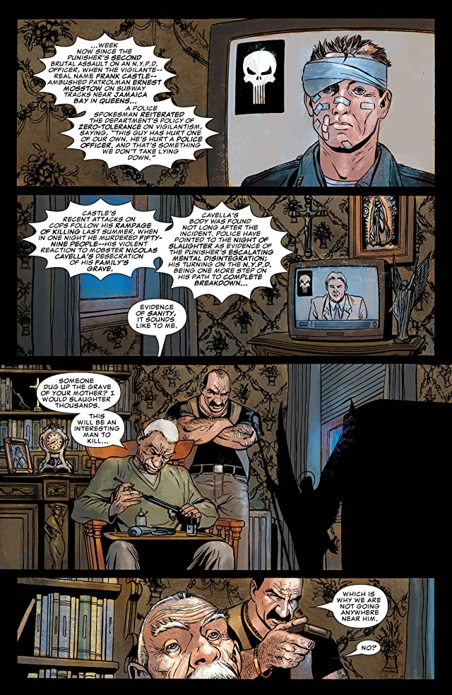 click for super-sized previews of The Punisher (2004-2008) #27