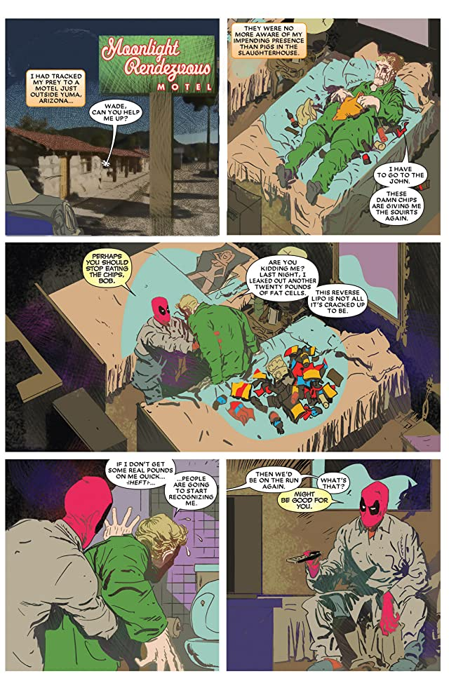 click for super-sized previews of Deadpool Max 2 #4