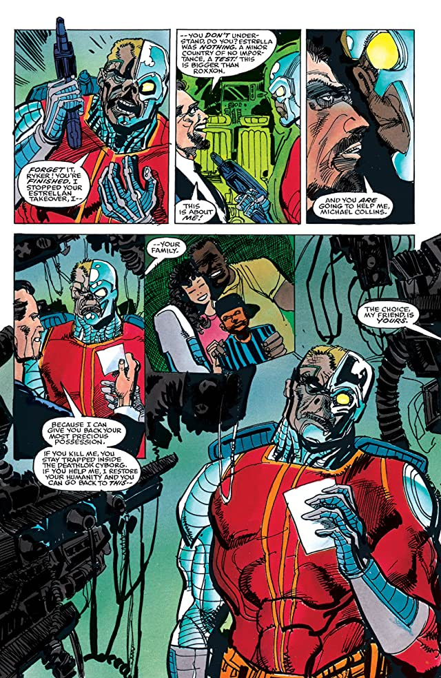 click for super-sized previews of Deathlok (1990) #4 (of 4)