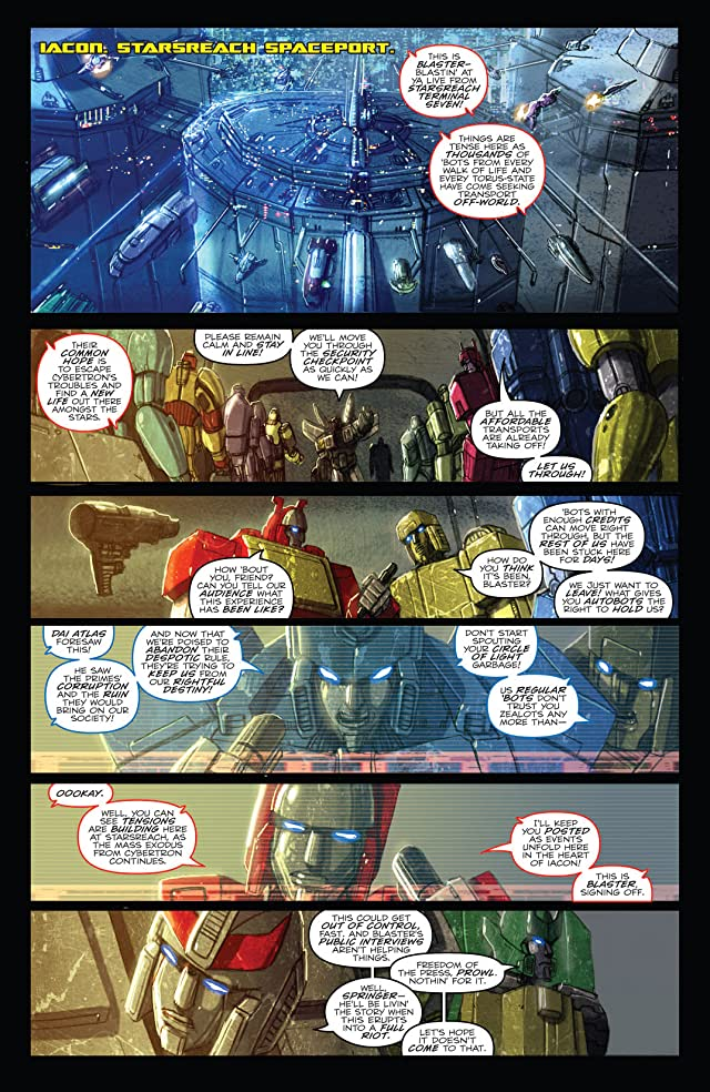 click for super-sized previews of Transformers: Monstrosity #8 (of 12)