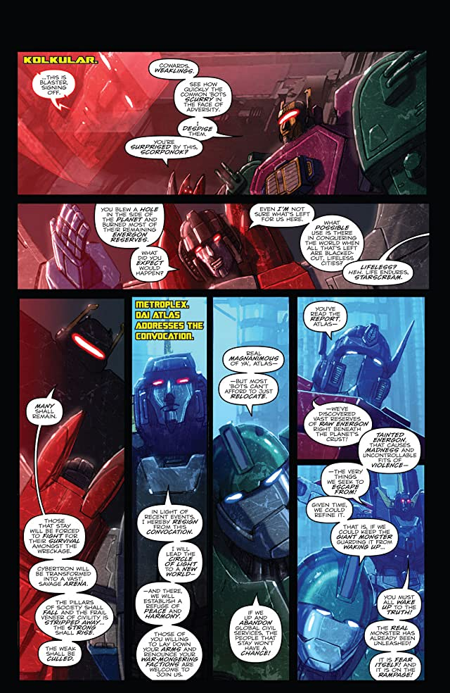 click for super-sized previews of Transformers: Monstrosity #8