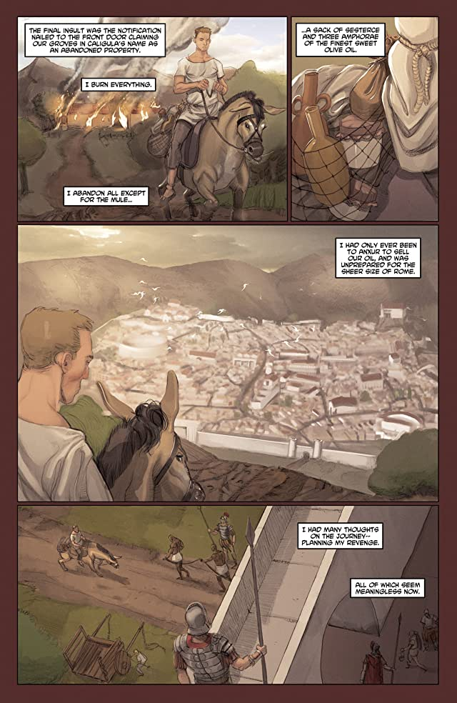click for super-sized previews of Caligula #1