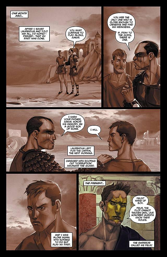 click for super-sized previews of Caligula #4