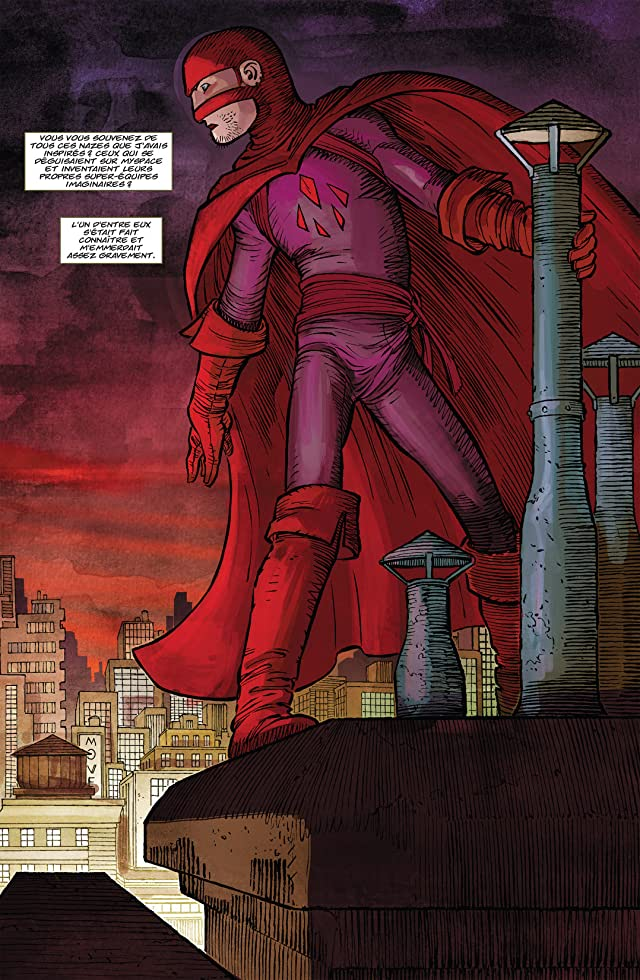 click for super-sized previews of Kick-Ass Vol. 2: Brume rouge