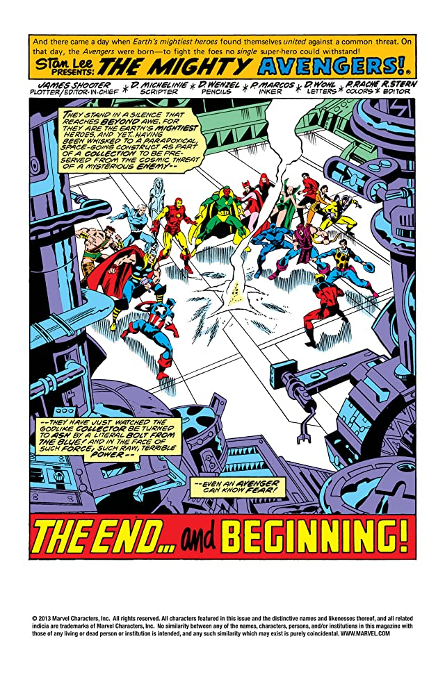 click for super-sized previews of Avengers (1963-1996) #175
