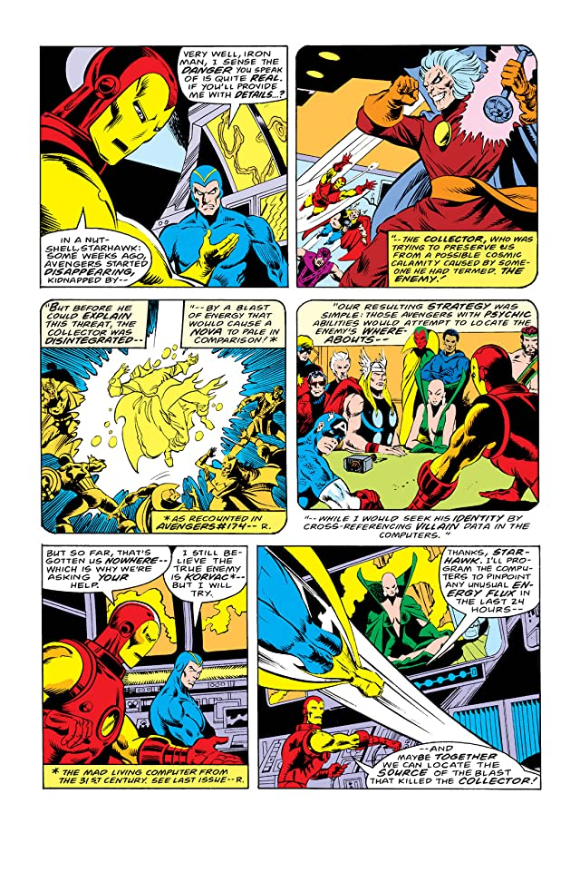 click for super-sized previews of Avengers (1963-1996) #176