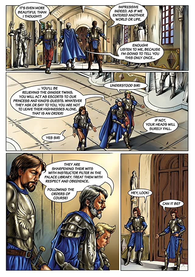 click for super-sized previews of Swords #1
