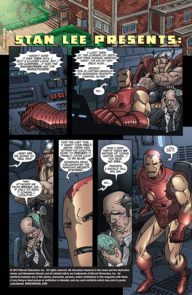 click for super-sized previews of Avengers: Earth's Mightiest Heroes (2004-2005) #6 (of 8)