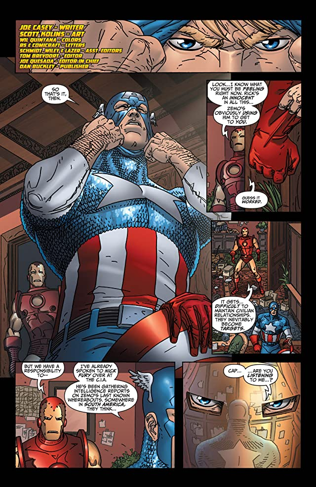 click for super-sized previews of Avengers: Earth's Mightiest Heroes (2004-2005) #6