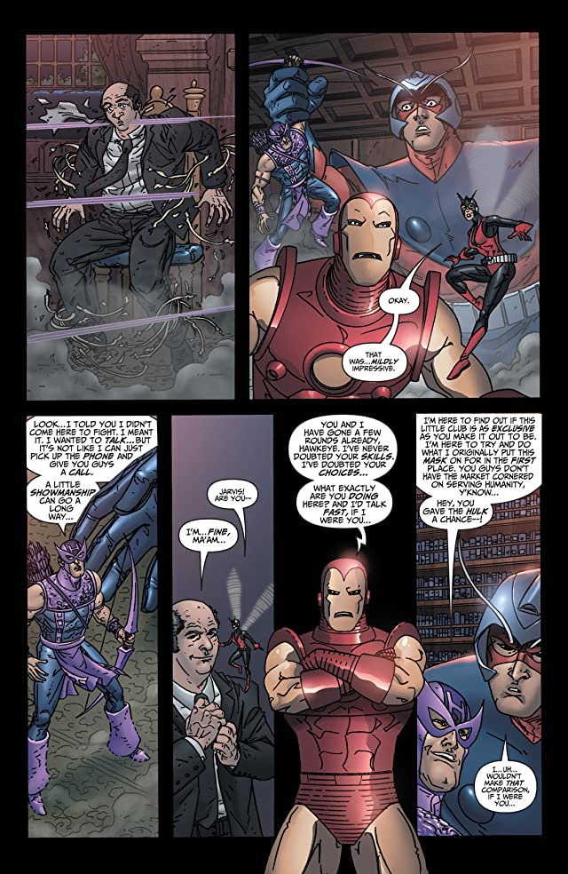 click for super-sized previews of Avengers: Earth's Mightiest Heroes (2004-2005) #7
