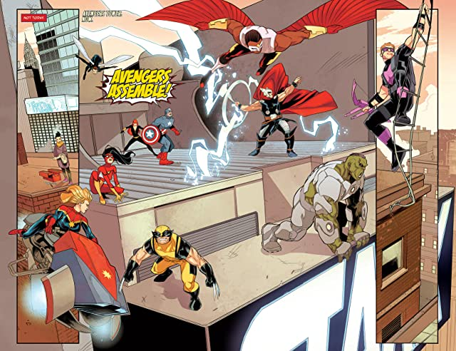 click for super-sized previews of Avengers Assemble #16