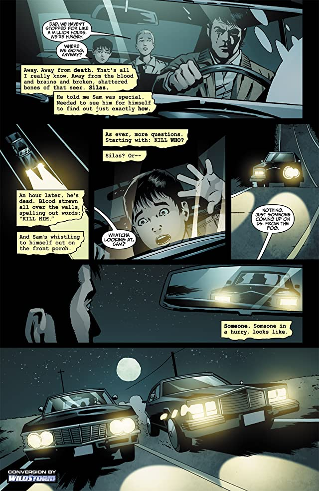 click for super-sized previews of Supernatural: Rising Son #4
