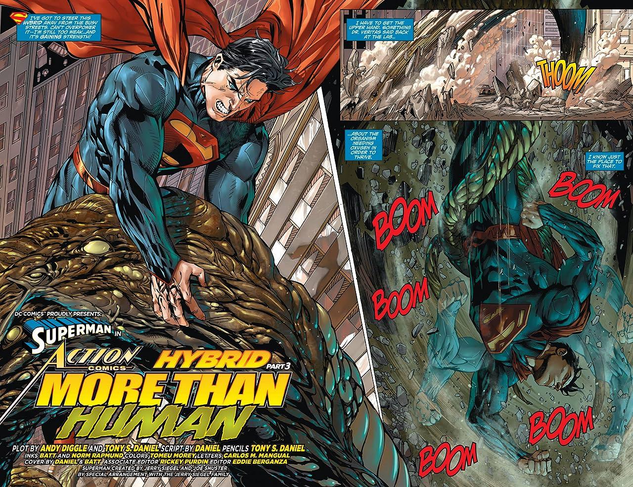 Action Comics (2011-) #21