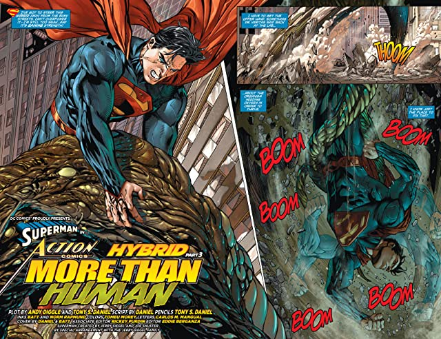 click for super-sized previews of Action Comics (2011-) #21