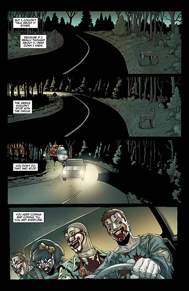 click for super-sized previews of Crossed: Badlands #11