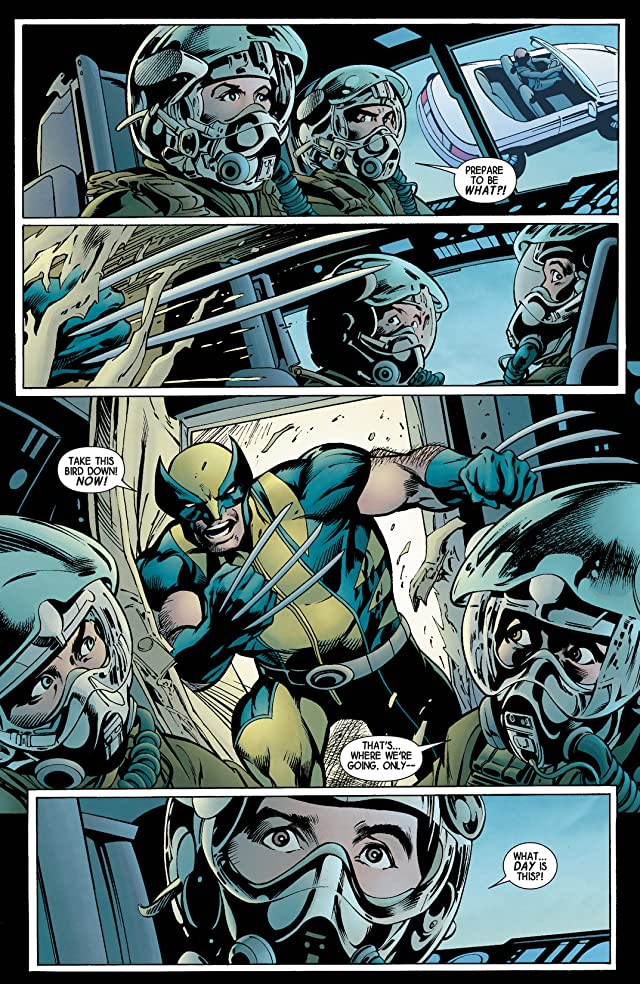 click for super-sized previews of Wolverine (2013-2014) #4
