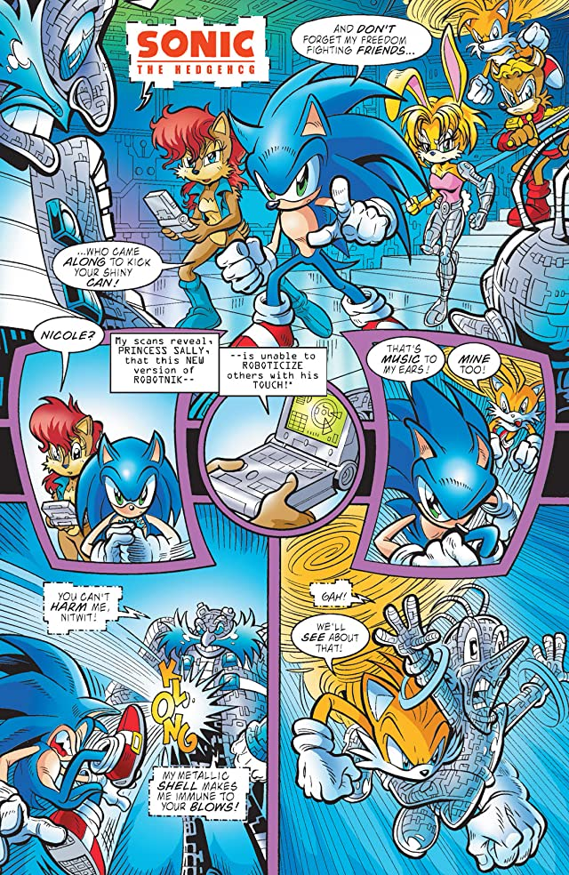 Sonic the Hedgehog #118