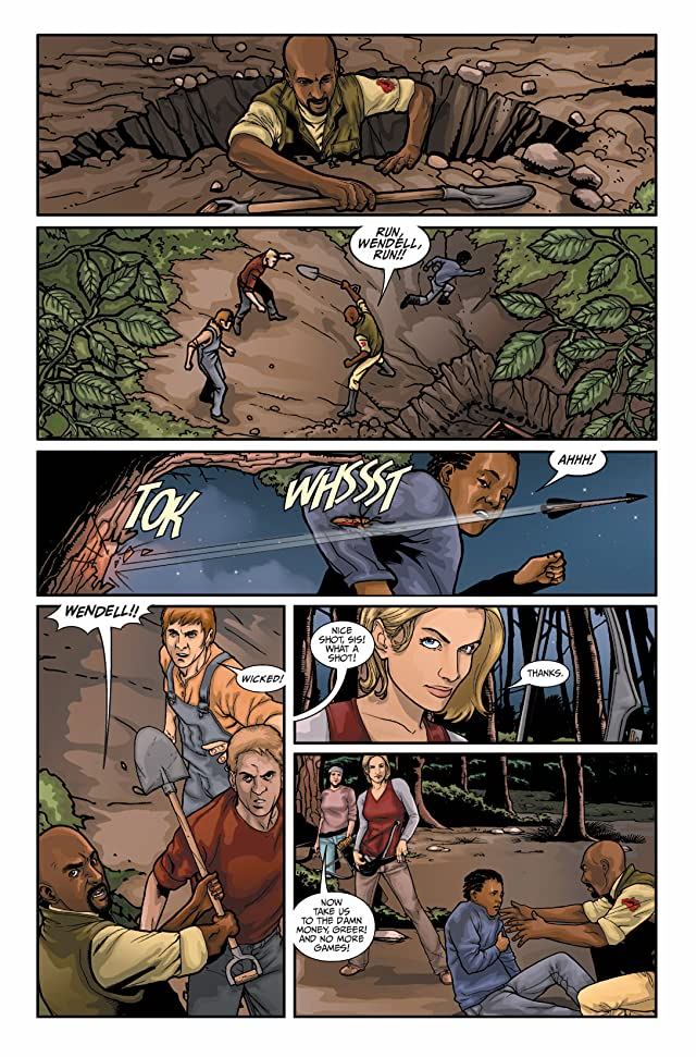 click for super-sized previews of Hunter's Moon #5