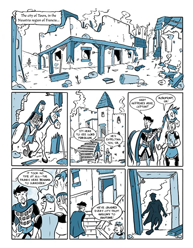 Kid Beowulf and the Song of Roland #4