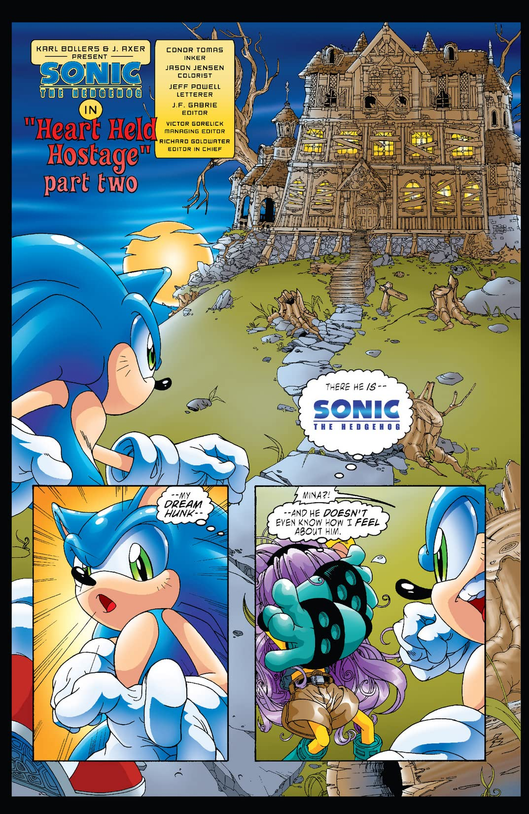 Sonic the Hedgehog #123