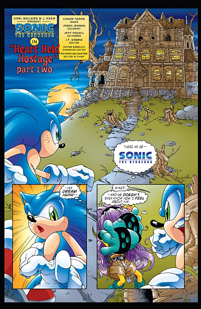 Sonic the Hedgehog #123