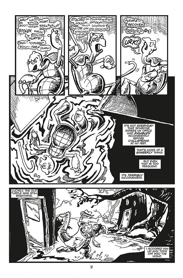 Charlie Croc: Private Eye #1