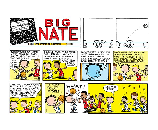 click for super-sized previews of Big Nate Makes a Splash