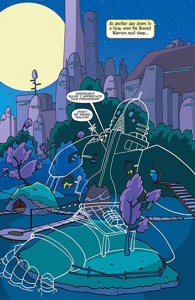 click for super-sized previews of Bravest Warriors #9