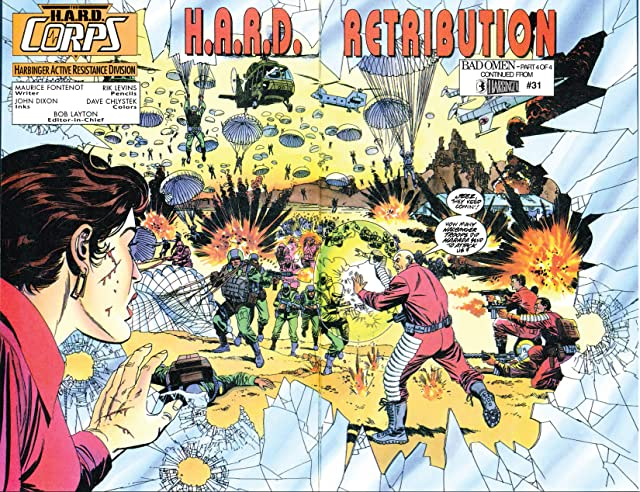 click for super-sized previews of H.A.R.D. Corps (1992-1995) #20