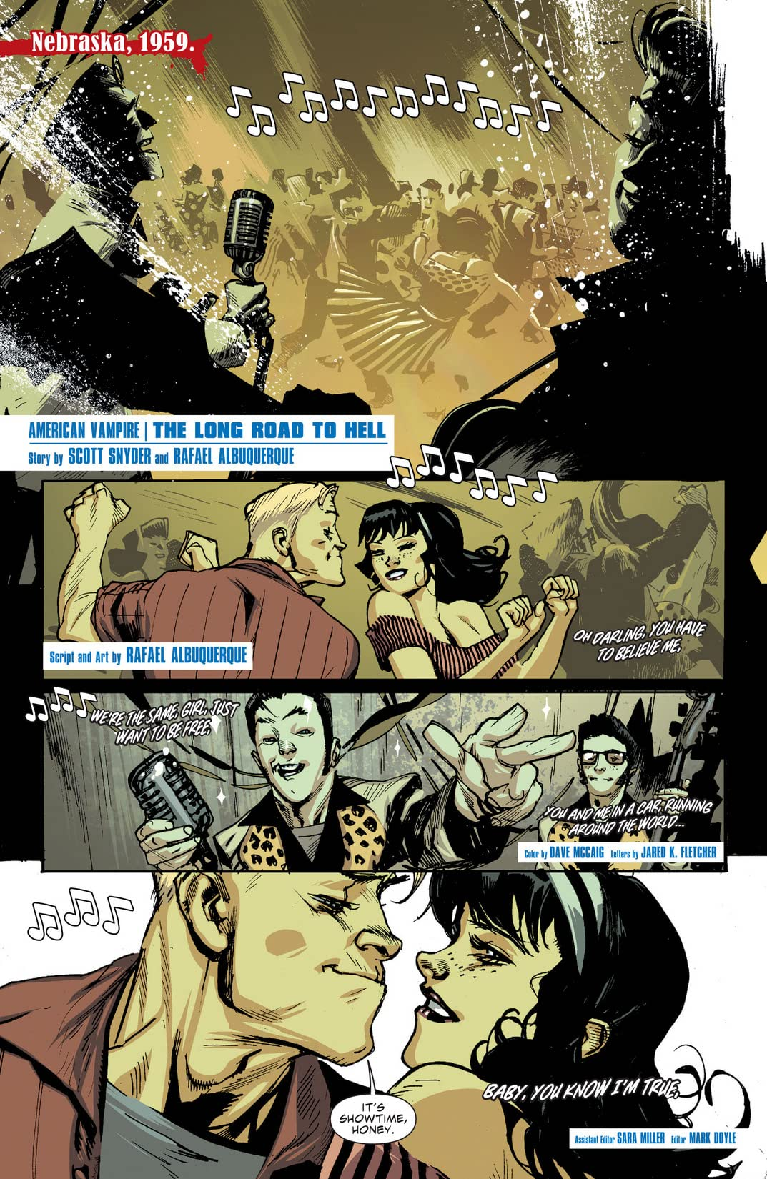 American Vampire: The Long Road To Hell #1