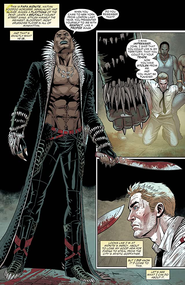 click for super-sized previews of Constantine (2013-2015) #4