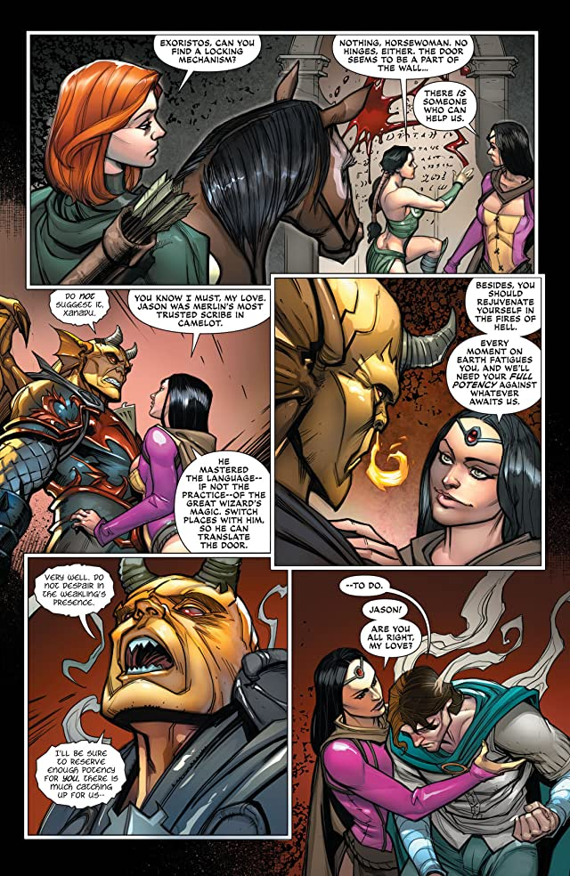 click for super-sized previews of Demon Knights (2011-2013) #21