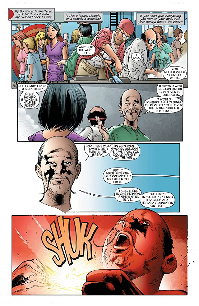 click for super-sized previews of Katana (2013) #5